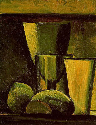 Still Life By Pablo Picasso Art Reproduction from Wanford