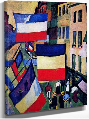 Street Decked With Flags 1906 By Dufy Raoul