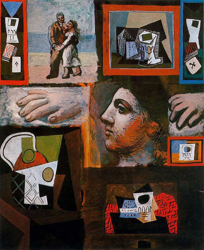 Studio 1920 By Pablo Picasso Art Reproduction from Wanford
