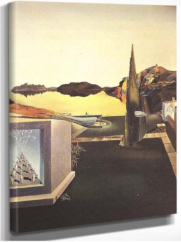 Surrealist Object Gauge Of Instantaneous Memory By Salvador Dali