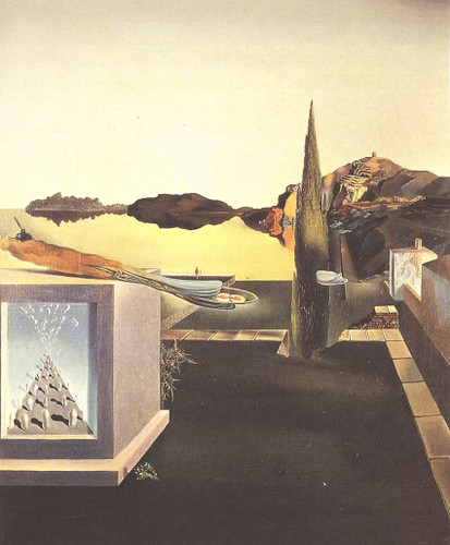 Surrealist Object Gauge Of Instantaneous Memory By Salvador Dali Art Reproduction from Wanford