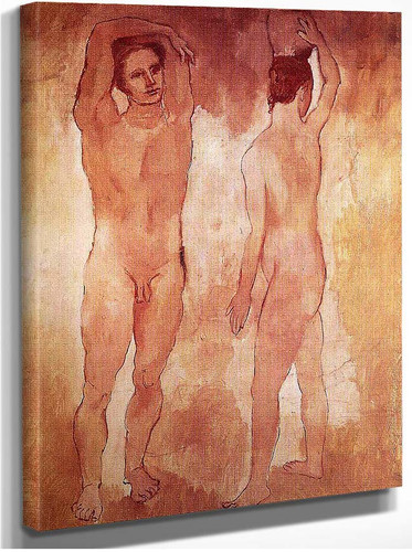 Teenagers 1906 By Pablo Picasso