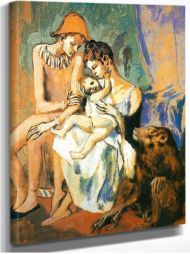 The Acrobats Family With A Monkey By Pablo Picasso