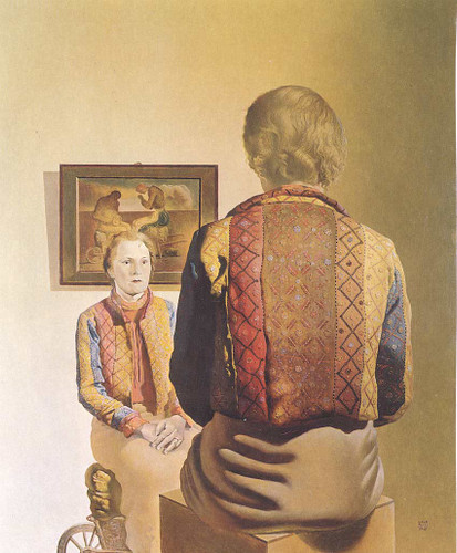 The Angelus Of Gala By Salvador Dali Art Reproduction from Wanford