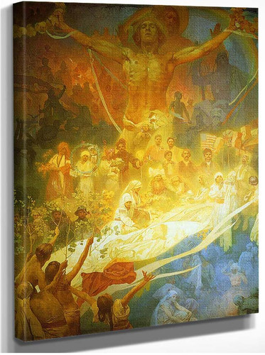 The Apotheosis Of The Slavs 1925 By Alphonse Mucha