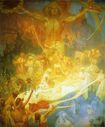 The Apotheosis Of The Slavs 1925 By Alphonse Mucha Art Reproduction from Wanford