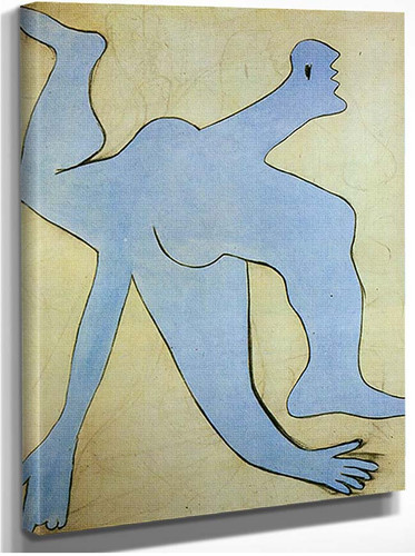 The Blue Acrobat By Pablo Picasso