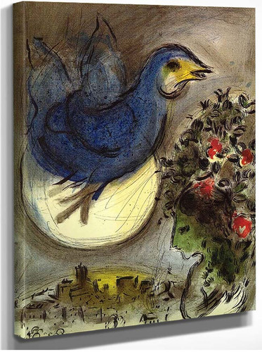 The Blue Bird 1968 By Marc Chagall