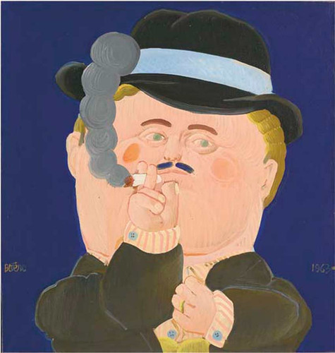 Le Patron By Fernando Botero Art Reproduction from Wanford.