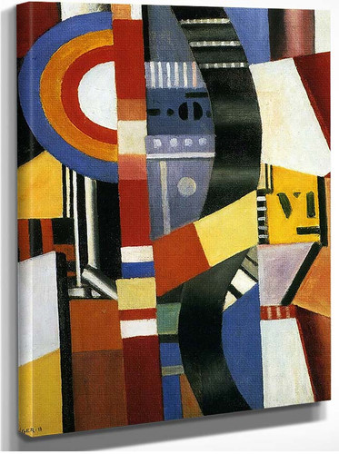 The Disc 1918 By Fernand Leger