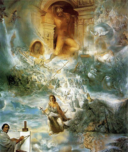 The Ecumenical Council 1960 By Salvador Dali Art Reproduction from Wanford