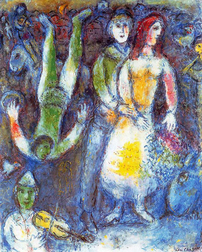 The Flying Clown 1981 By Marc Chagall Art Reproduction from Wanford