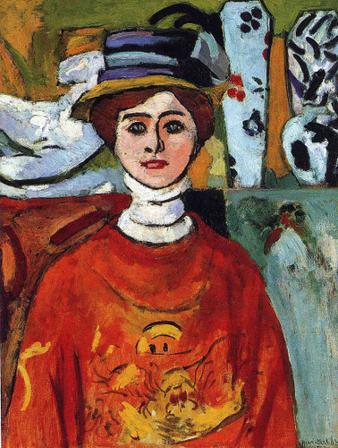 The Girl With Green Eyes 1908 By Henri Matisse Art Reproduction from Wanford