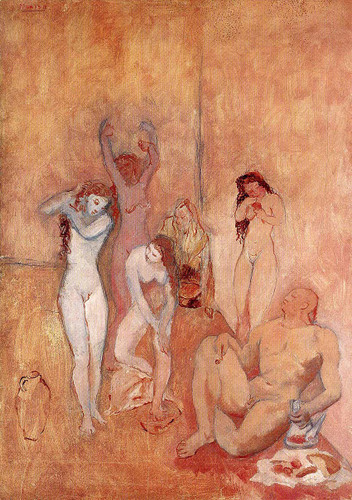 The Harem 1906 By Pablo Picasso Art Reproduction from Wanford