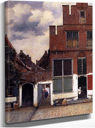 The Little Street By Vermeer Johannes