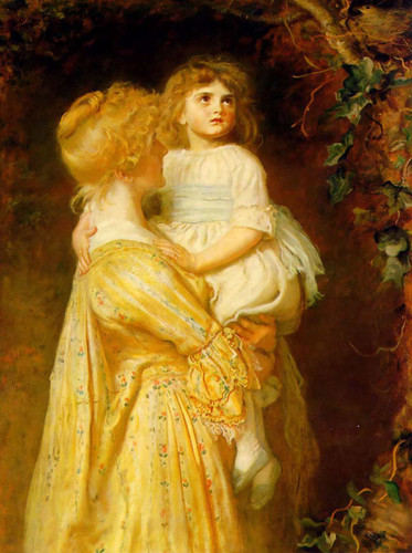 The Nest By John Everett Millais Art Reproduction from Wanford