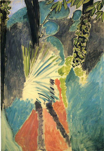The Palm 1912 By Henri Matisse Art Reproduction from Wanford