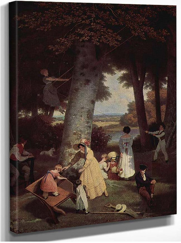 The Playground By Jacques Laurent Agasse