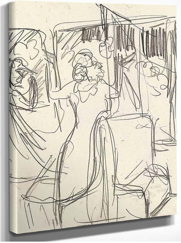 The Railway By Ernst Ludwig Kirchner