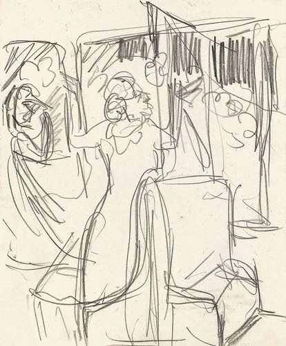 The Railway By Ernst Ludwig Kirchner Art Reproduction from Wanford