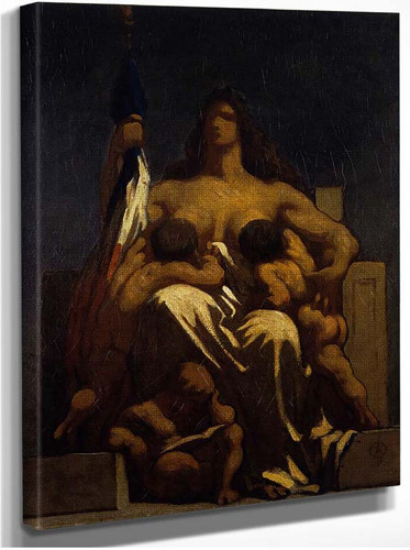 The Republic By Daumier Honore