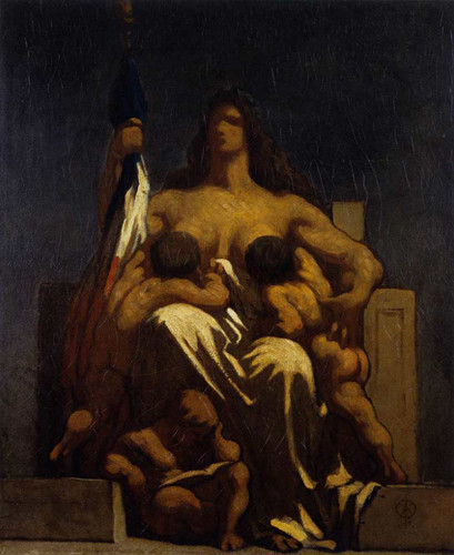 The Republic By Daumier Honore Art Reproduction from Wanford