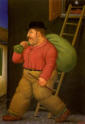 The Thief3 By Fernando Botero Art Reproduction from Wanford