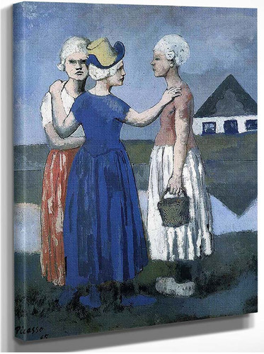 The Three Dutchwoman 1905 By Pablo Picasso