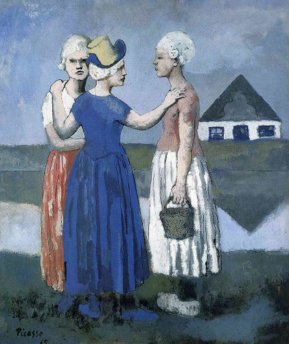 The Three Dutchwoman 1905 By Pablo Picasso Art Reproduction from Wanford