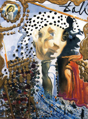 The Whole Dali In A Face By Salvador Dali Art Reproduction from Wanford