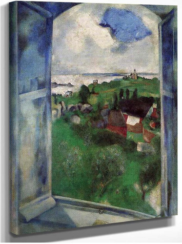 The Window 1924 By Marc Chagall