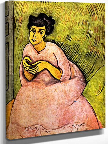 The Woman In Pink 1908 By Dufy Raoul