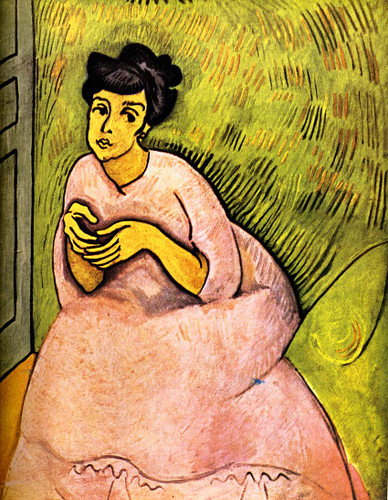 The Woman In Pink 1908 By Dufy Raoul Art Reproduction from Wanford