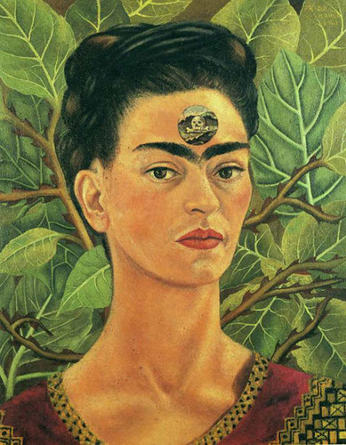 Thinking About Death 1943 By Frida Kahlo Art Reproduction from Wanford