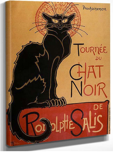 Tournee By Du By Chat By Noir By De By Rodolphe By Salis By Steinlen Theophile