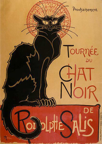 Tournee By Du By Chat By Noir By De By Rodolphe By Salis By Steinlen Theophile Art Reproduction from Wanford