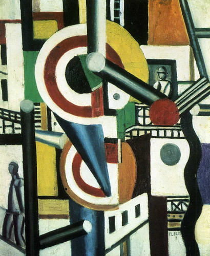 Two Discs In The City 1918 By Fernand Leger Art Reproduction from Wanford