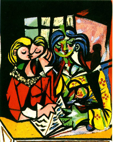 Two Figures 1934 By Pablo Picasso Art Reproduction from Wanford