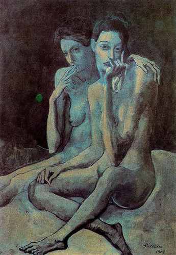 Two Friends 1904 By Pablo Picasso Art Reproduction from Wanford