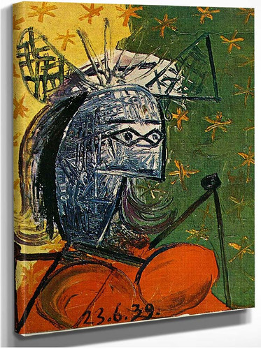 Untitled 1939 4 By Pablo Picasso