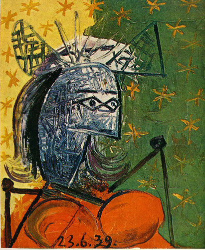 Untitled 1939 4 By Pablo Picasso Art Reproduction from Wanford