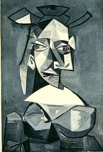 Untitled 1939 By Pablo Picasso Art Reproduction from Wanford
