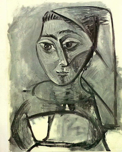 Untitled 1955 By Pablo Picasso Art Reproduction from Wanford