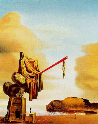 Untitled Dreams On The Beach By Salvador Dali Art Reproduction from Wanford