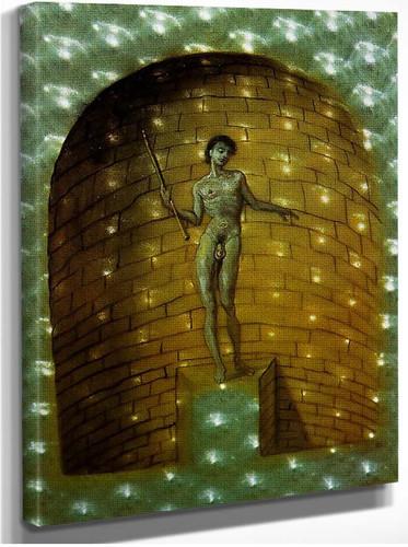 Untitled St John By Salvador Dali