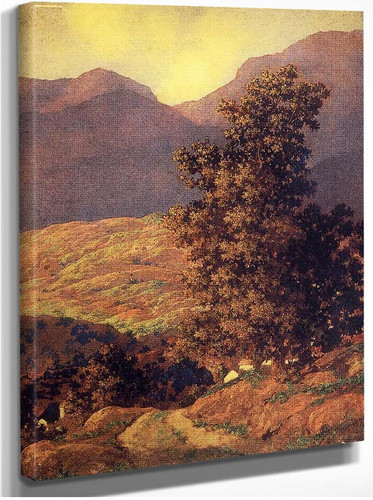 Valley Of Enchantment By A11 By Maxfield Parrish