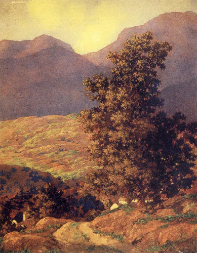 Valley Of Enchantment By A11 By Maxfield Parrish Art Reproduction from Wanford