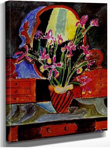 Vase Of Irises 1912 By Henri Matisse