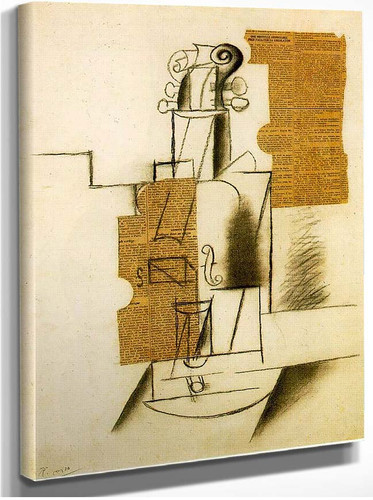 Violin 1 By Pablo Picasso