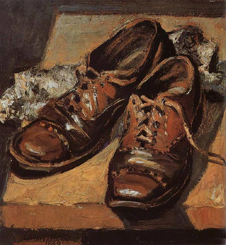 Old Shoes 1926 By Grant Wood Art Reproduction from Wanford.